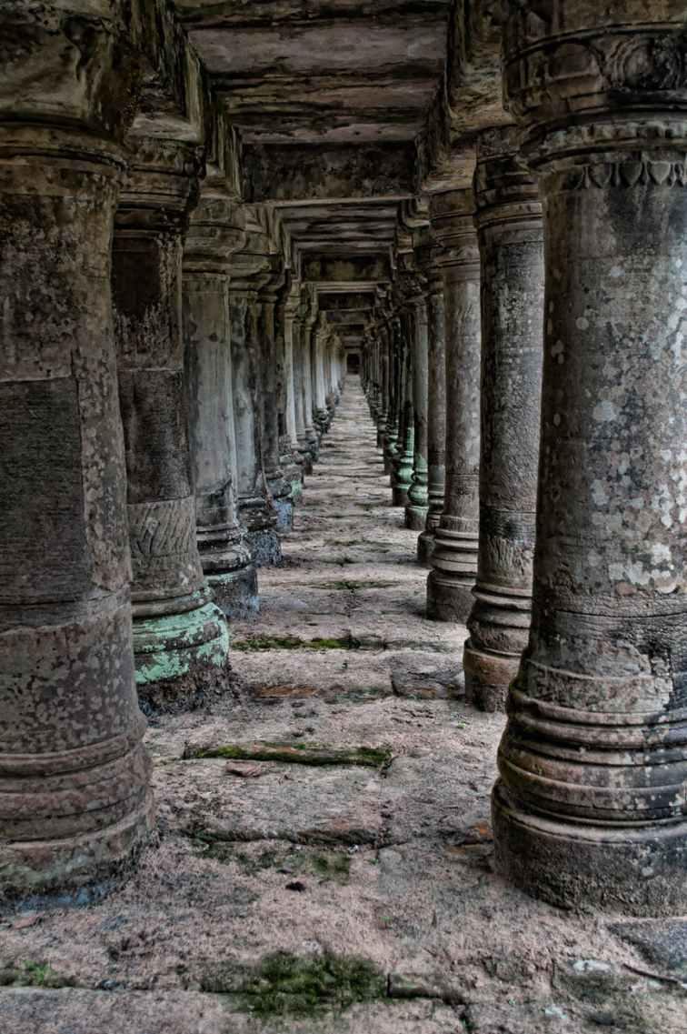 tall pillars